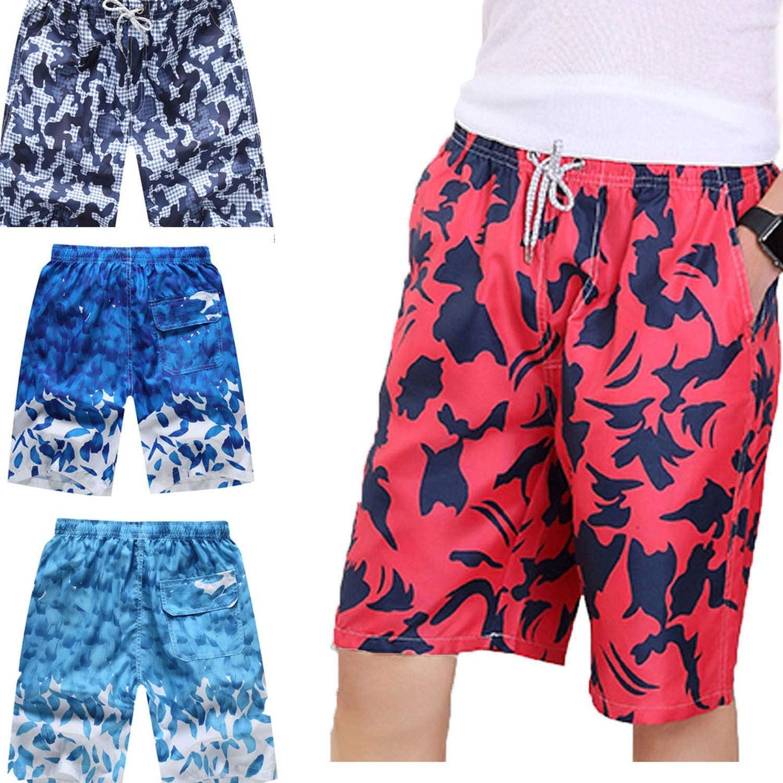Dendrobium Mens Swimwear Swim Shorts Trunks Beach Board Shorts Swimming Short Pants Swimsuits Sports
