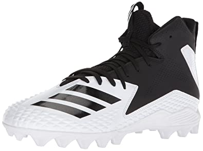 san francisco d620b 9c73e adidas Mens Freak Mid MD Football Shoe, WhiteBlackBlack, ...