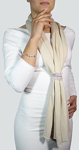 2d5519128aee Écharpe en cachemire écharpe femme cashmire écharpe pour femme écharpe avec  bijoux chale en cachemire