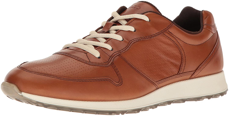 ECCO Women's Sneak Retro Tie Fashion Sneaker B01M6878QK 37 EU / 6-6.5 US Amber
