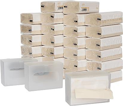DrDirt Bambú Pañuelo facial Papel Sin perfume 3 Ply 110 Stück 27 paquetes pañuelos 3 montado en la pared caja de pañuelos: Amazon.es: Salud y cuidado personal