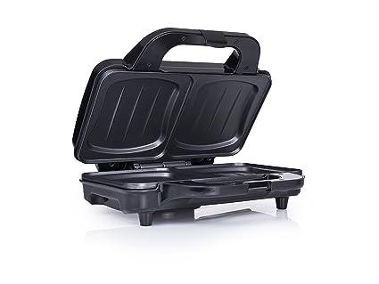 Tristar SA-3060 Sandwichera, 900 W, Negro, Acero Inoxidable