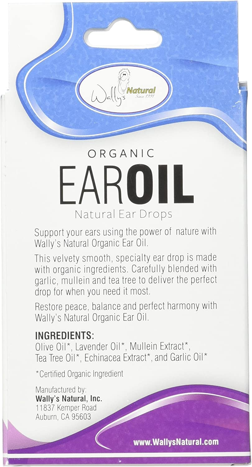 Amazon Com Wally S Natural Products Organic Ear Oil 1 Fl Oz Health Personal Care