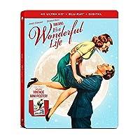 Deals on Its a Wonderful Life 4K UHD Steelbook