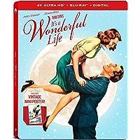 It's a Wonderful Life 4K UHD Steelbook (4K UHD + Blu-ray + Digital)