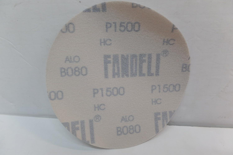 FANDELI B080-1500 6 X 0 KWIK-Grip Bison Discs Sandpaper