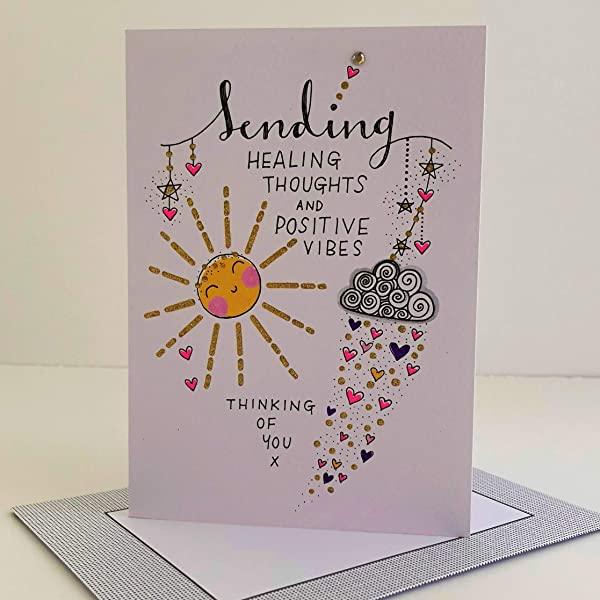 From The Little Voice Range UKG420680 - Sending A Hug Greeting Card With A Gold Foiled Finish