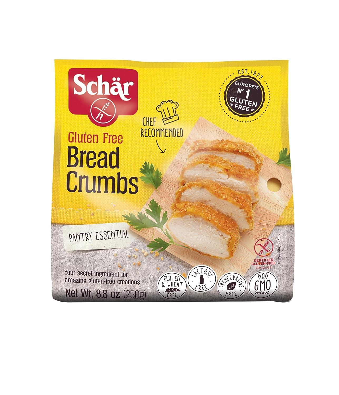 Schar Gluten Free Bread Crumbs - Net Wt. 8.8 oz.