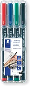 Staedtler Permanent Markers (STD313WP4A6), Pack of 4 pens