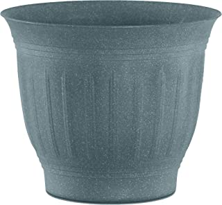 """product image for Bloem (CLN16-54 Colonnade Wood Resin Planter 16"""" Forest Green"""