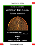 Mémento 3e degré R.E.A.A Paroles de Maître