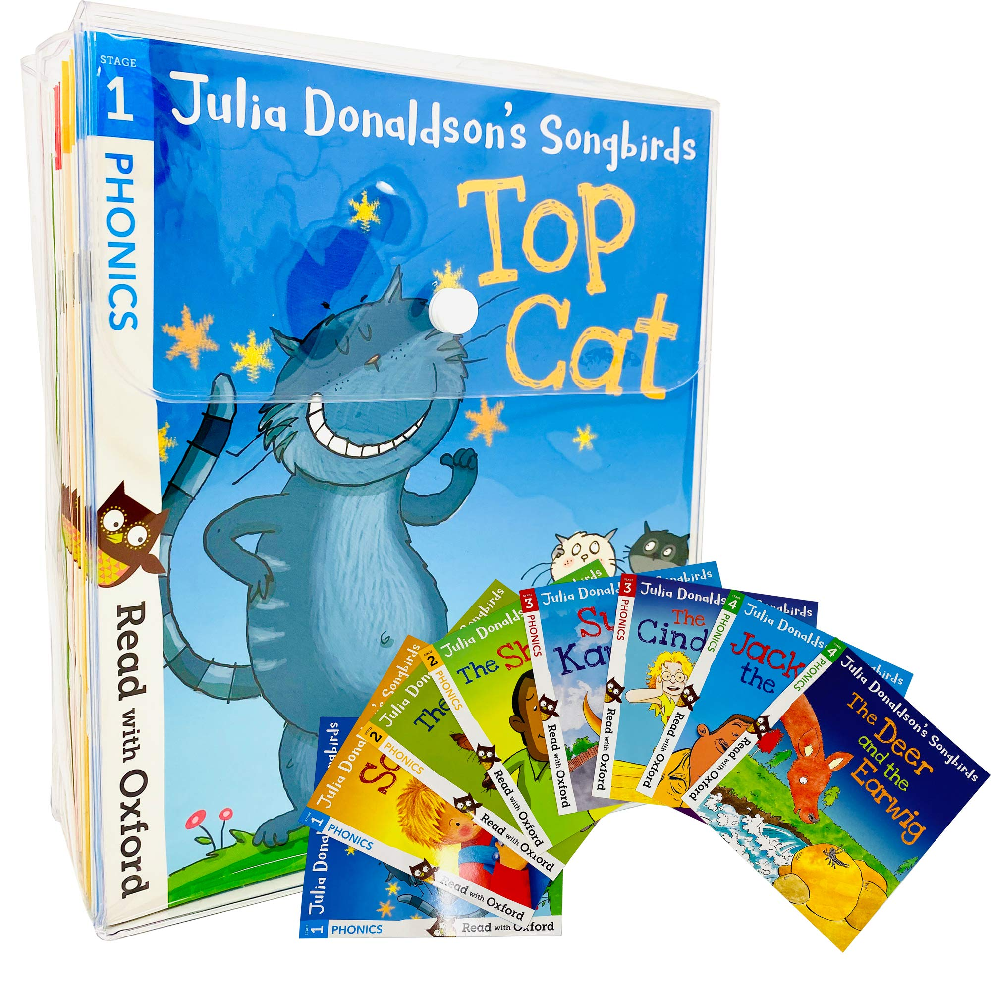 Oxford Reading Tree, Songbirds Phonics Collection 36-Books Set RRP128.82 Stage 1+, 2, 3, 4, 5and6 Oxford Reading Tree by Julia Donaldson 2011 Paperback: Amazon.es: Libros