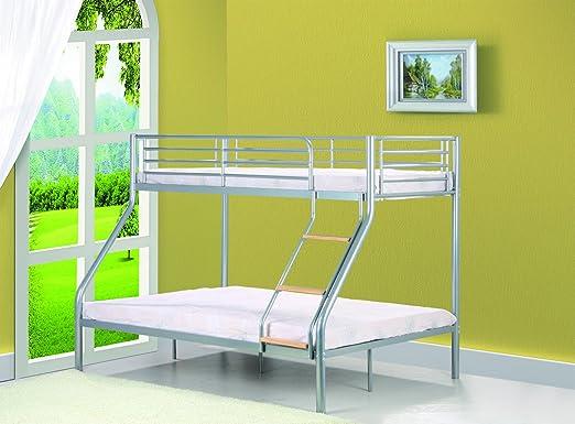 Etagenbett 3 Personen Metall : Comfy living single ft doppelbett triple metall etagenbett mit
