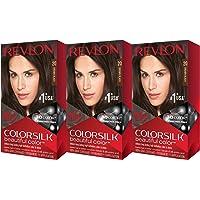 Revlon 3-PackColorsilk Brown/Black Beautiful Color