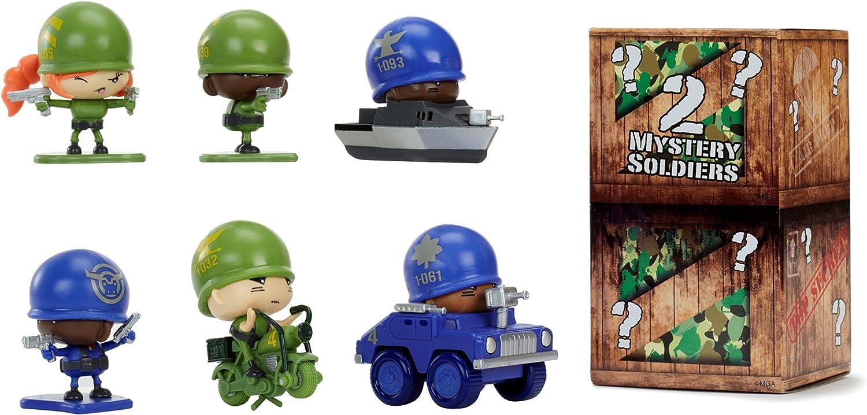 4 Figures NEW MARKSMEN SQUAD PACK Little Green Men Soldiers Battle Game