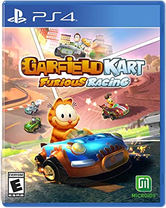 Amazon Com Garfield Kart Furious Racing Ps4 Playstation 4 Maximum Games Llc Video Games