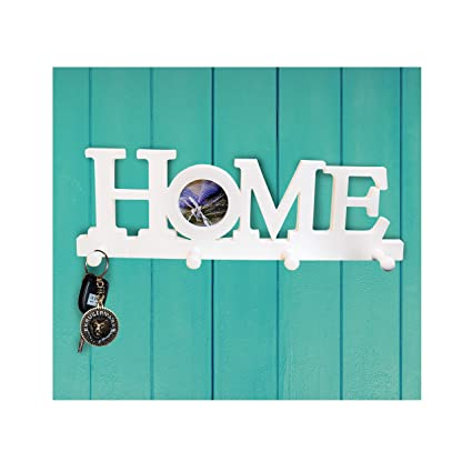 Amazon.com: Nitacy Decorative Wall Mounted Hanging Key Holder Rack ...