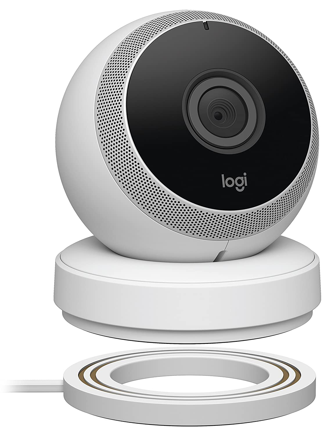 Best Home Security Camera - Logitech Circle White