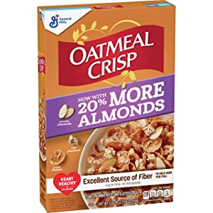 Raisin Nut Bran Oatmeal Crisp Cereal 19.7 oz Pack of 6