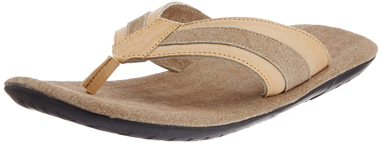 c3808b9f3baec High Sierra Men's Beige Leather Sandals and Floaters - 6 UK: Buy Online at  Low Prices in India - Amazon.in