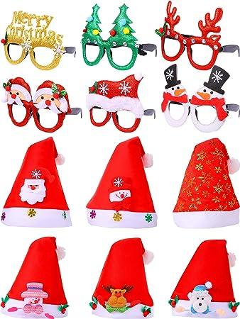 Cappello Per Adulti Natale Babbo Natale ideale per regali Costume Festa Di Natale Decorazione