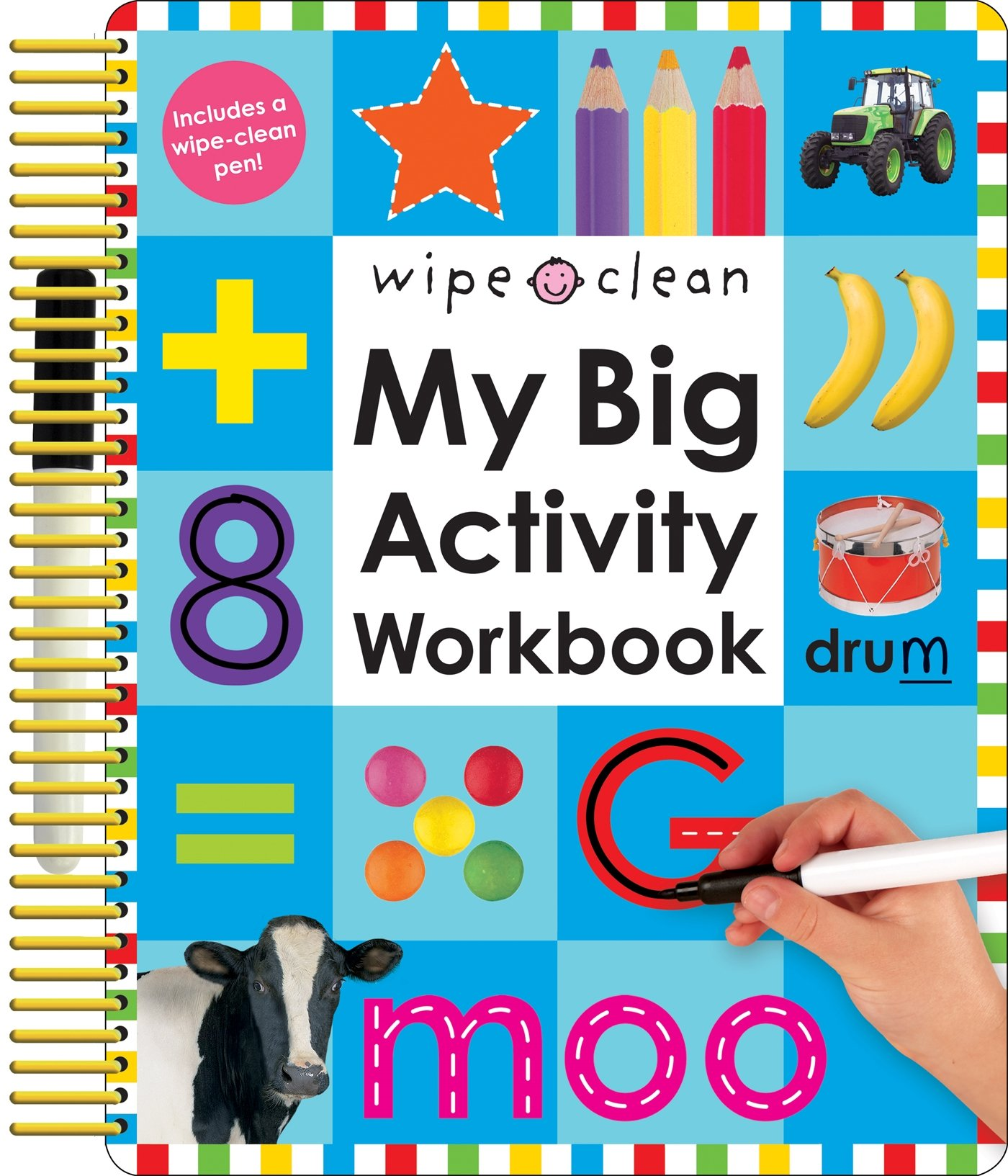 Wipe Clean Preschool Workbooks: Amazon.com
