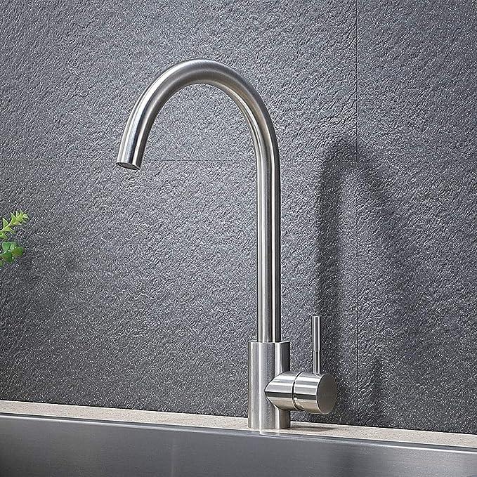 VAPSINT Single Handle Hot & Cold Mixer Kitchen Sink Faucet Review