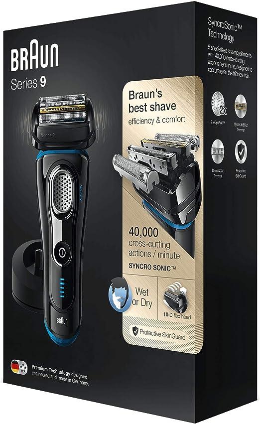 Braun Series 9 9240 s - Afeitadora eléctrica para hombre de lámina ...