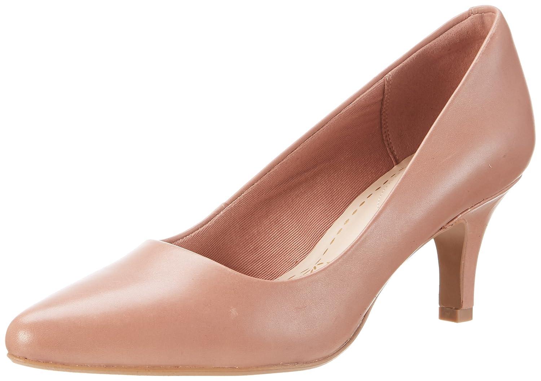 Clarks Damen Isidora Faye Pumps36 EU|Rosa (Dusty Pink Leather)