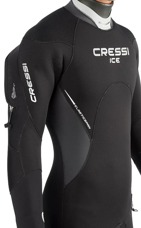 Cressi Hielo Hombre Semi-Dry - Traje Neopreno Premium 7 mm: Amazon ...