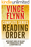 VINCE FLYNN COMPLETE SERIES READING ORDER: Mitch Rapp series in chronological order, all collector's editions, all stand-alone novels, and more! (English Edition)