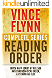VINCE FLYNN COMPLETE SERIES READING ORDER: Mitch Rapp series in chronological order, all collector\'s editions, all stand-alone novels, and more!