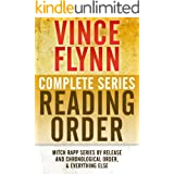 VINCE FLYNN COMPLETE SERIES READING ORDER: Mitch Rapp series in chronological order, all collector's editions, all stand-alon