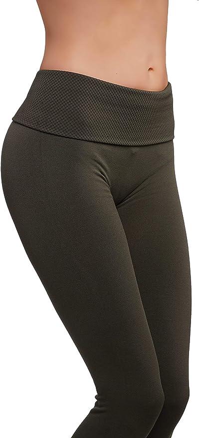 Amazon.com: CODEFIT - Leggings de forro polar para yoga ...