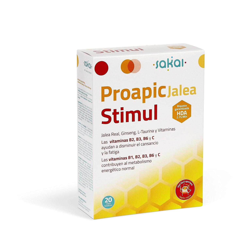 SAKAI PROAPIC JALEA STIMUL 20 Viales 10 ml: Amazon.es: Salud y cuidado personal