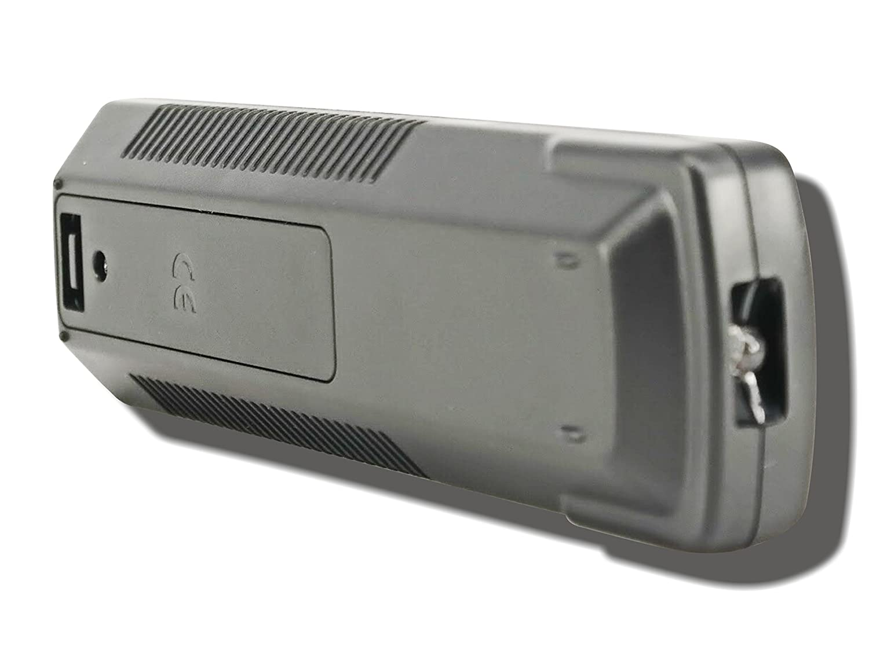 TeKswamp Video Projector Remote Control Black for Sony VPL-FX40