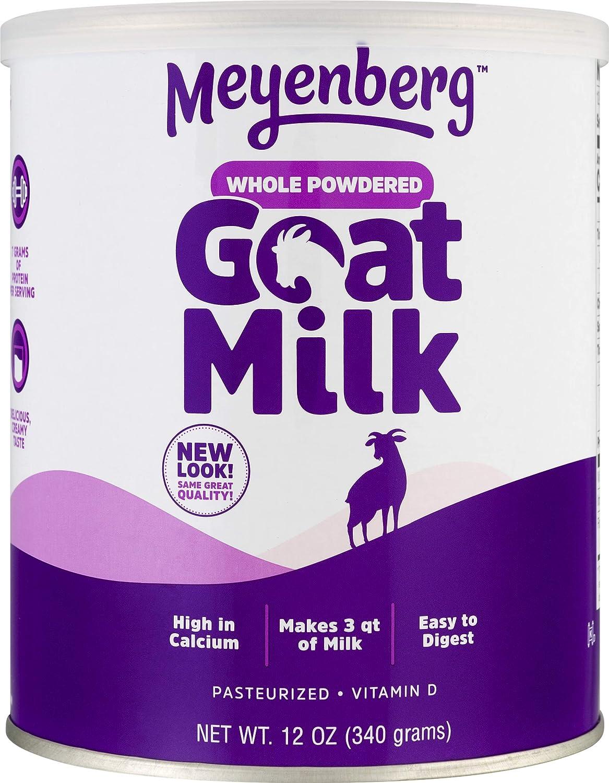 Amazon Com Meyenberg Whole Powdered Goat Milk 12 Ounce Gluten Free Non Gmo Vitamin D Grocery Gourmet Food