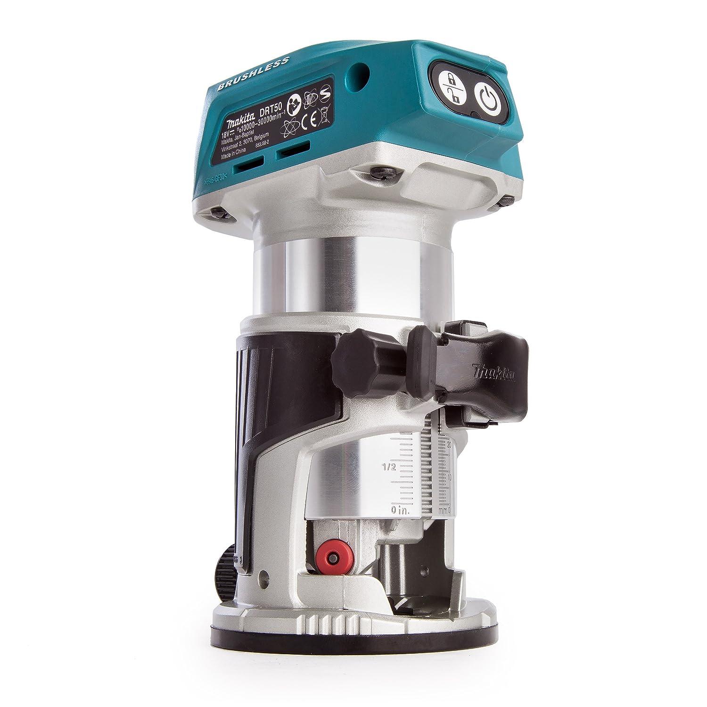 Makita DRT50ZJ 18V Li-Ion accu bovenfrees/kantenfrees / trimmer body in Mbox