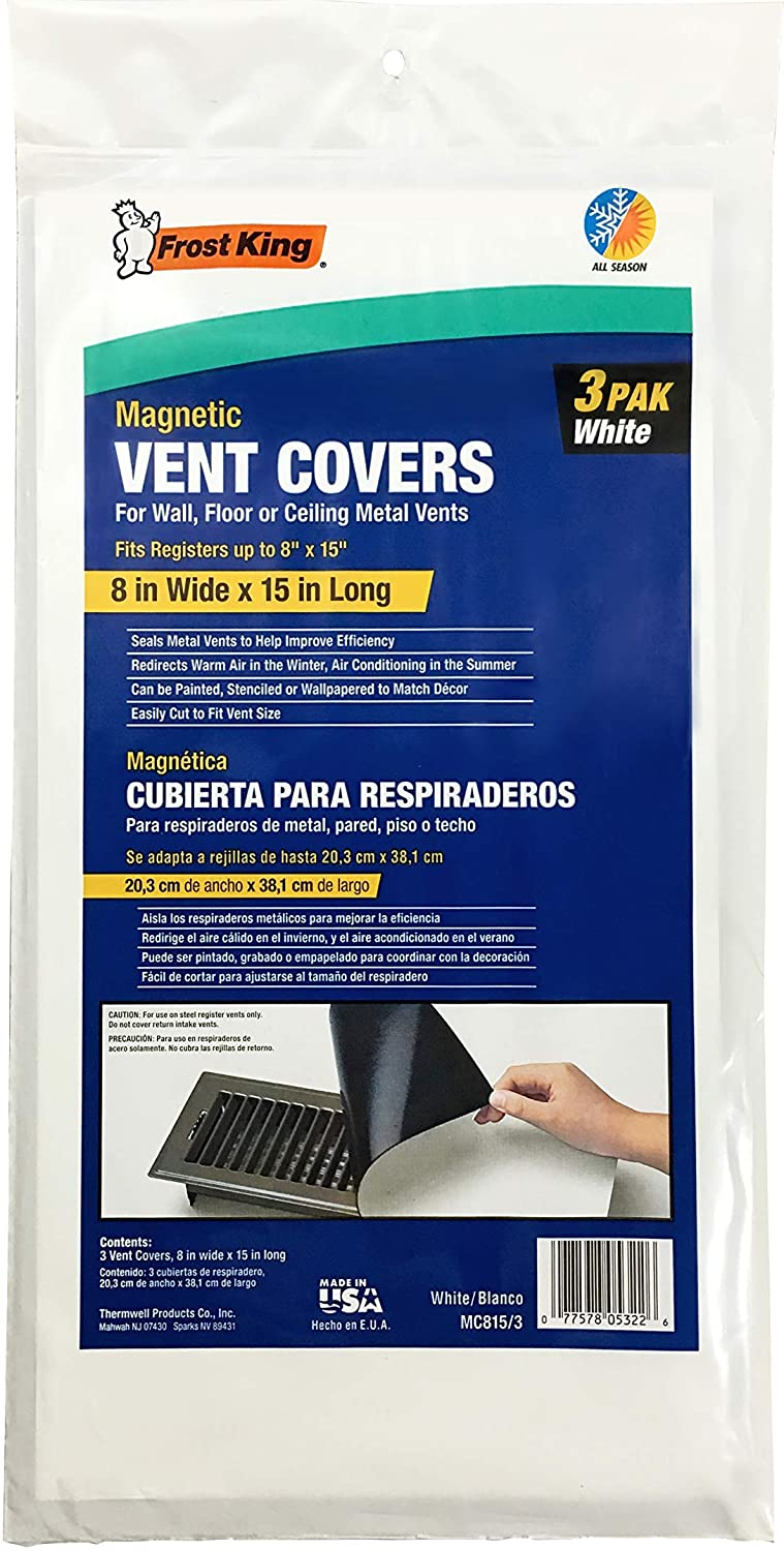 Frost King Magnetic Vent Covers, 8