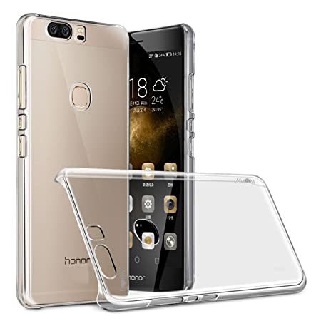 Heartly Transparent Clear Crystal Hot Thin Hard Back Case Cover for Huawei Honor 8   Crystal View
