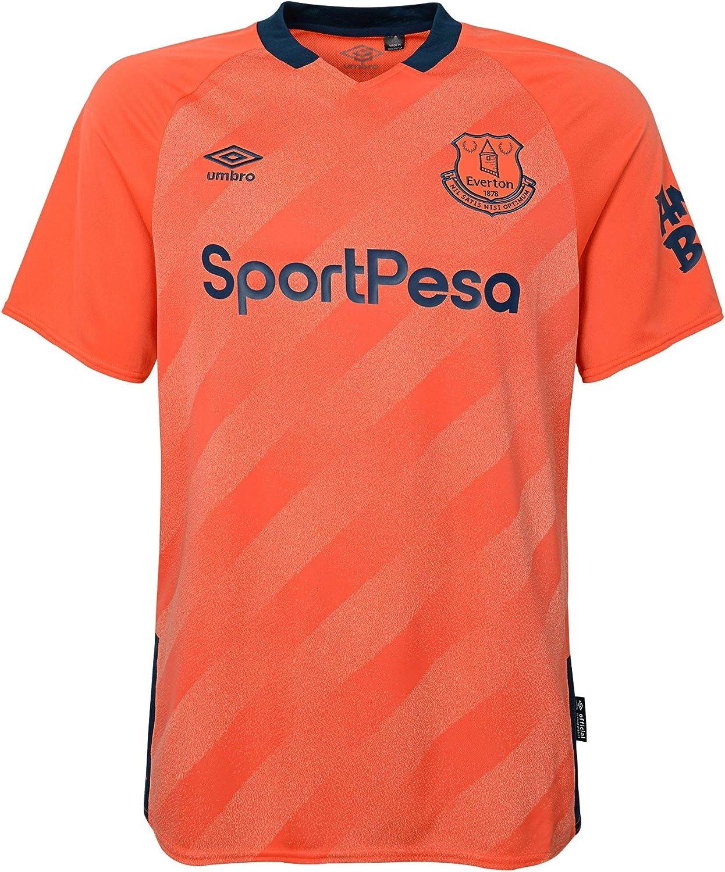 Amazon Com Umbro 2019 20 Everton Away Jersey Pink 2xl Clothing