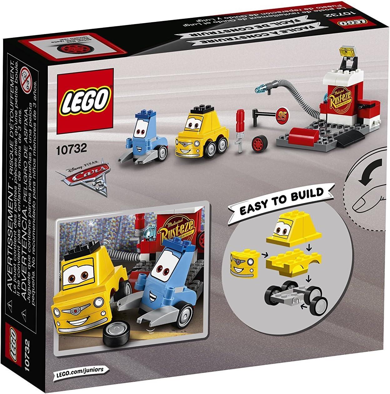 Lego Juniors-10732 Puesto de reparación de Guido y Luigi ...