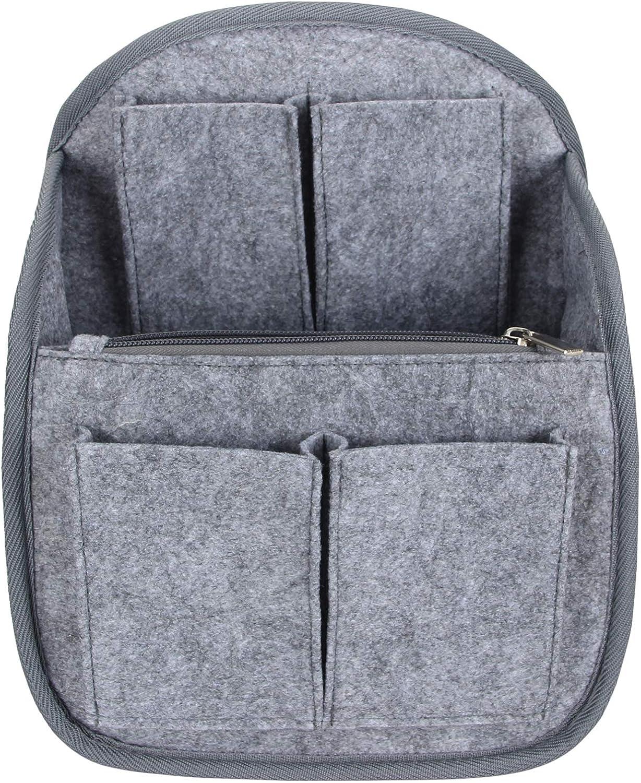 Luxja Backpack Organizer, Felt Organizer Insert for Backpack