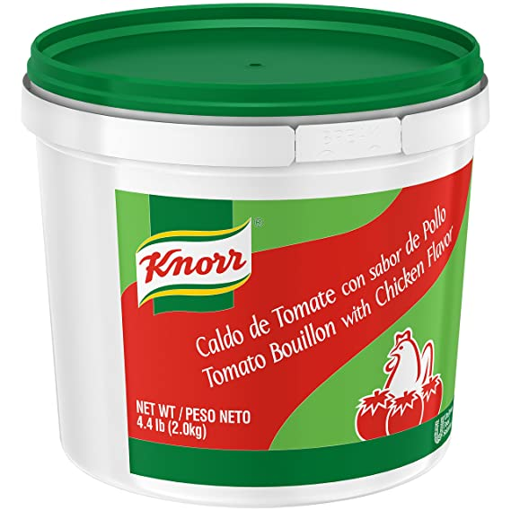 Amazon.com : Knorr Tomato Chicken Bouillon Caldo de Tomate Pollo 4.4 lb : Grocery & Gourmet Food
