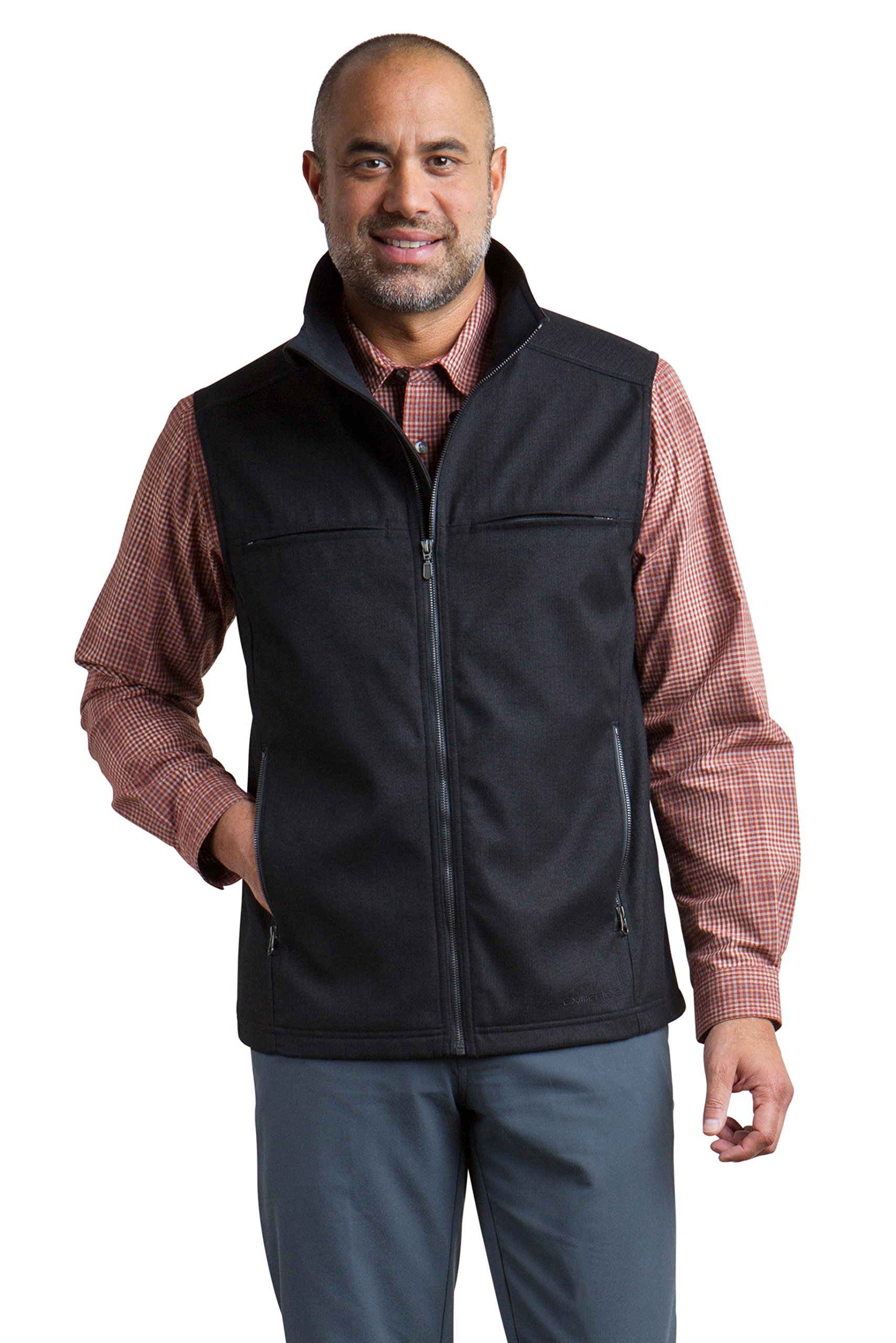 ExOfficio Men's Mackenzie Vest, Black, X-Large by ExOfficio