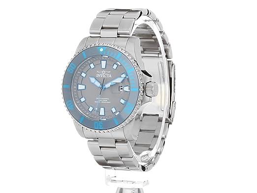 Amazon.com: Invicta Men's 'Pro Diver' Quartz Stainless Steel Casual Watch,  Color:Silver-Toned (Model: 90294): Invicta: Watches