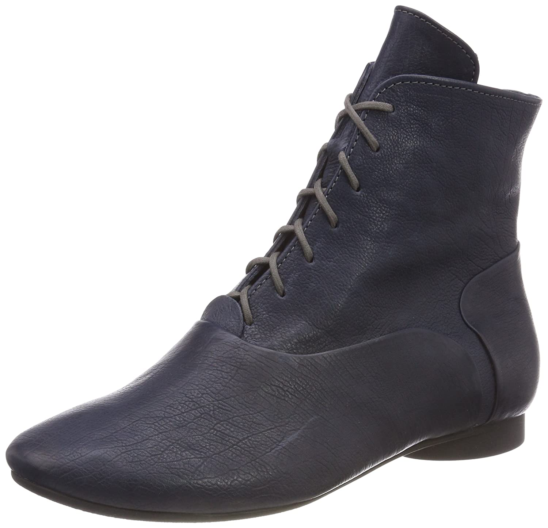 Blau (84 Navy Kombi) Think  Damen Guad_383278 Desert Stiefel