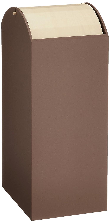 ヤマト工芸 ダストボックス ARCH ライトブラウン YK12-107 20L B018VM8K1E ライトブラウン ライトブラウン