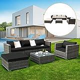 Amazon.com: Urest Juego de 7 piezas de muebles de patio de ...