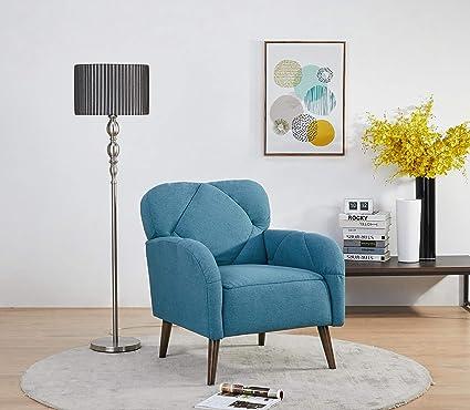 Magnificent Amazon Com Artdeco Home Norwalk Chair Peacock Blue Unemploymentrelief Wooden Chair Designs For Living Room Unemploymentrelieforg